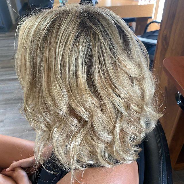 Hair color at the Beauty barn Studio
