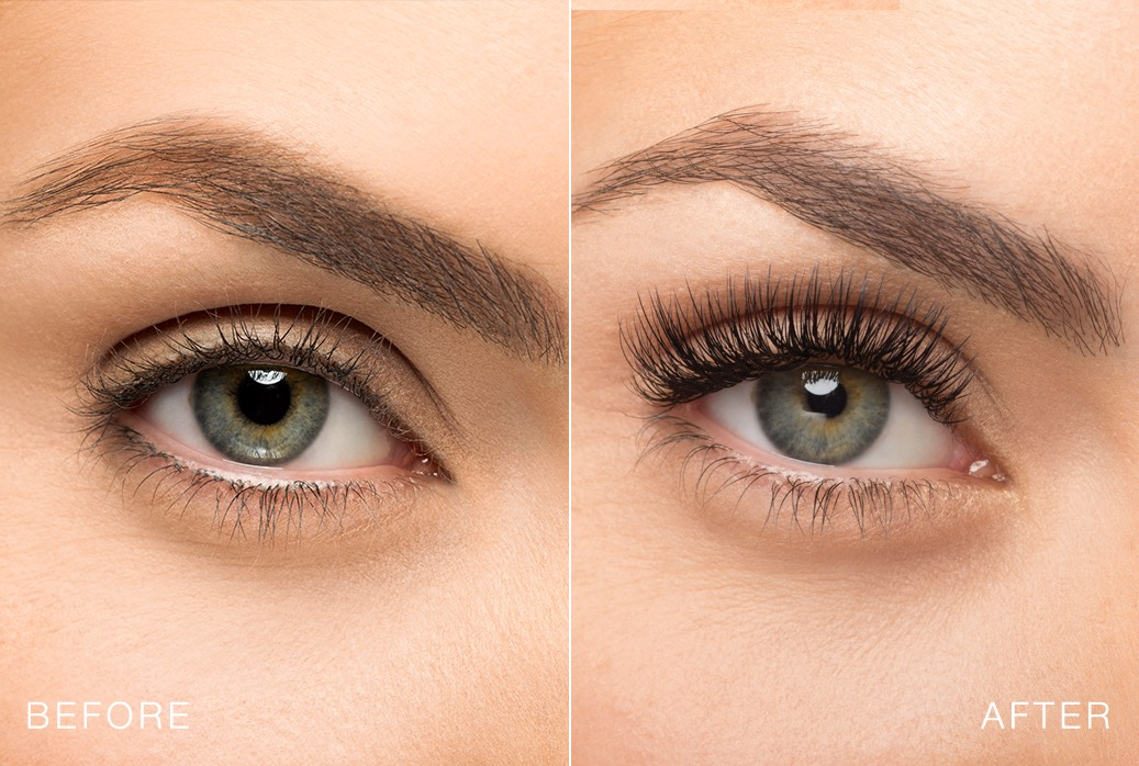 Lash extensions at the Beauty barn
